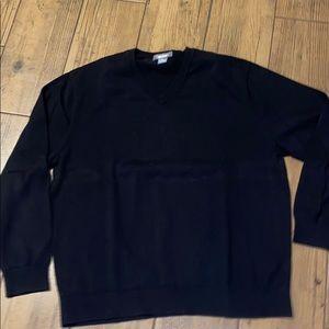 Men's XL Daniel Cremieux black sweater